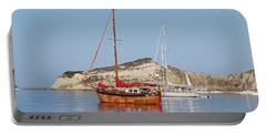 Tall Ship Portable Battery Charger by George Katechis
