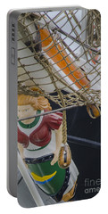 Tall Ship Gunilla Masthead Portable Battery Charger by Dale Powell