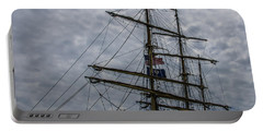 Sailing The Clouds Portable Battery Charger by Dale Powell