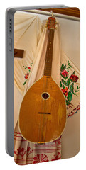 Tamburica Croatian Traditional Music Instrument Portable Battery Charger