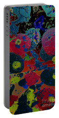 Portable Battery Charger featuring the painting Tangent by Jacqueline McReynolds