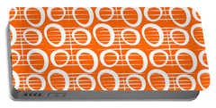 Tangerine Loop Portable Battery Charger