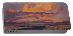 Taos Gorge - Pastel Sky Portable Battery Charger
