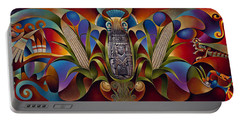 Tapestry Of Gods Portable Battery Charger
