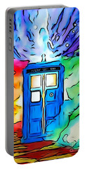 Tardis Illustration Edition Portable Battery Charger