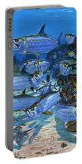 Tarpon Alley In0019 Portable Battery Charger by Carey Chen