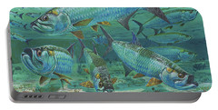 Tarpon Rolling In0025 Portable Battery Charger by Carey Chen