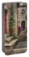 Tarquinian Red Door Portable Battery Charger