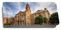 Tarrant County Courthouse II Portable Battery Charger