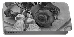 Portable Battery Charger featuring the photograph Tassels And Roses Beauty by Sandra Foster