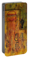 Tattered Wall  Portable Battery Charger