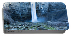 Taughannock Falls In Spring Portable Battery Charger