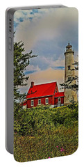 Tawas Point Light Retro Mode Portable Battery Charger