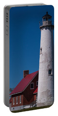 Portable Battery Charger featuring the photograph Tawas Point Lighthouse by Patrick Shupert