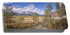 Portable Battery Charger featuring the photograph Taylor Creek Panorama by Jim Thompson