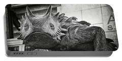 Tcu Horned Frog 2014 Portable Battery Charger by Joan Carroll