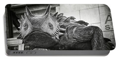 Tcu Horned Frog Bw Portable Battery Charger