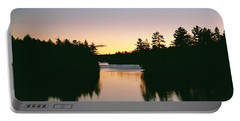Tea Lake Sunset Portable Battery Charger