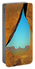 Tear Drop Arch Monument Valley Portable Battery Charger