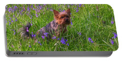 Teddy Amongst The Bluebells Portable Battery Charger