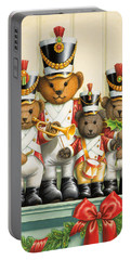 Teddy Bear Band Portable Battery Charger