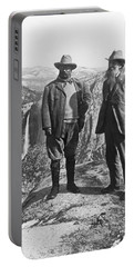 Teddy Roosevelt And John Muir Portable Battery Charger
