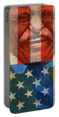 Teddy Roosevelt Portable Battery Charger