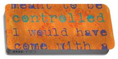 Teen Inspirational 1 Portable Battery Charger by Debbie DeWitt