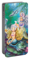 Teen Little Mermaid Portable Battery Charger