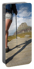 Teenage Female Hiking On A Boardwalk Portable Battery Charger