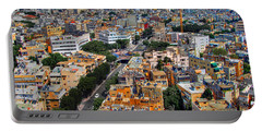 Portable Battery Charger featuring the photograph Tel Aviv Eagle Eye View by Ron Shoshani