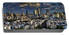 Tel Aviv Skyline Fascination Portable Battery Charger