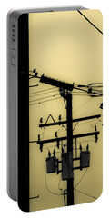 Telephone Pole And Sneakers 5 Portable Battery Charger