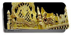 Temple Art - Brass Handicraft Portable Battery Charger