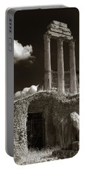 Temple Of Castor And Polux Portable Battery Charger