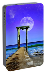 Portable Battery Charger featuring the photograph Temple Of The Atlantic by Kathy Baccari
