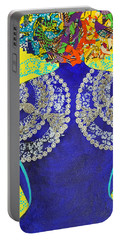 Temple Of The Goddess Eye Vol 3 Portable Battery Charger by Apanaki Temitayo M
