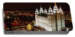 Temple Square Portable Battery Charger by David Andersen