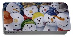Ten Little Snowmen Portable Battery Charger