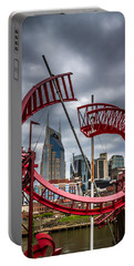 Tennessee - Nashville Through Sculpture Portable Battery Charger