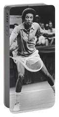 Tennis Champion Arthur Ashe Portable Battery Charger
