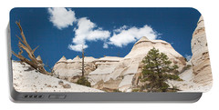 Portable Battery Charger featuring the photograph High Noon At Tent Rocks by Roselynne Broussard