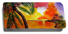 Tequila Sunset Portable Battery Charger