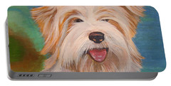 Terrier Portrait Portable Battery Charger