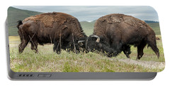 Portable Battery Charger featuring the photograph Test Of Strength by Jack Bell