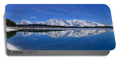 Teton End Of Winter Reflections Portable Battery Charger