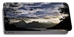 Teton Range Sunset Portable Battery Charger