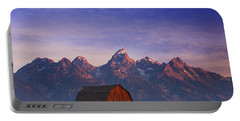 Teton Sunrise Portable Battery Charger by Darren  White