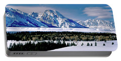 Teton Valley Winter Grand Teton National Park Portable Battery Charger