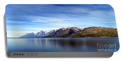 Tetons By The Lake Portable Battery Charger